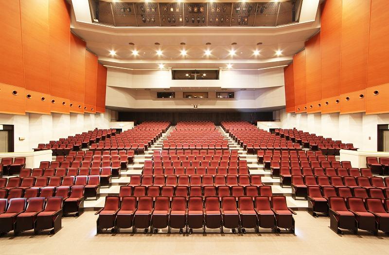 しが県民芸術創造館 大ホール改修