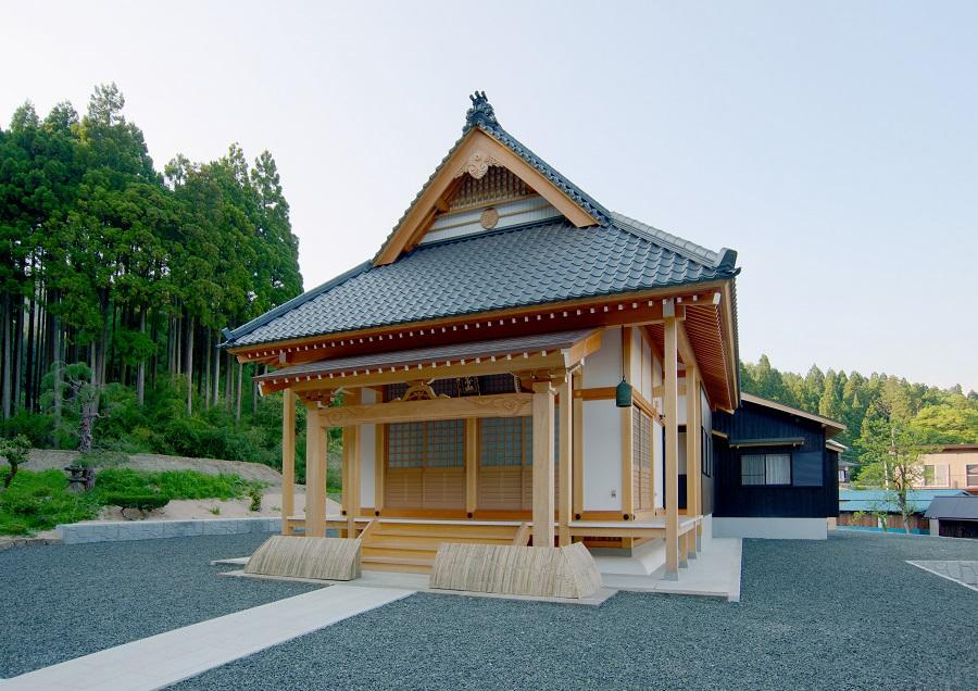 寺社建築「勧明寺」