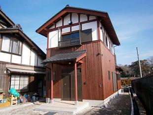 国宝・彦根城の望める家