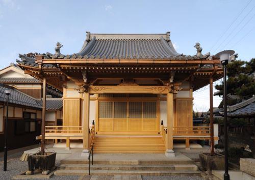 寺社建築「法泉寺」